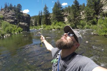 Fly Fishing Eleven Mile Canyon in Colorado | humanitou.co