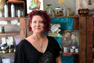 Courtney Henslee at Brazen Bee in Manitou Springs, Colorado