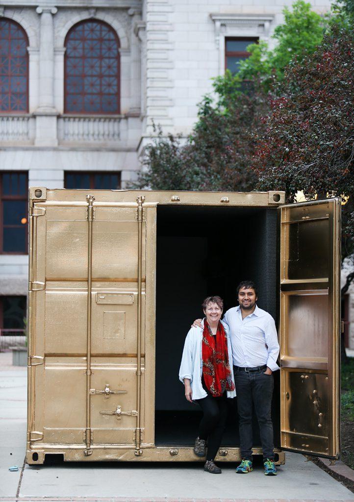 Deborah Thornton and Amar Bakshi | Portal Project