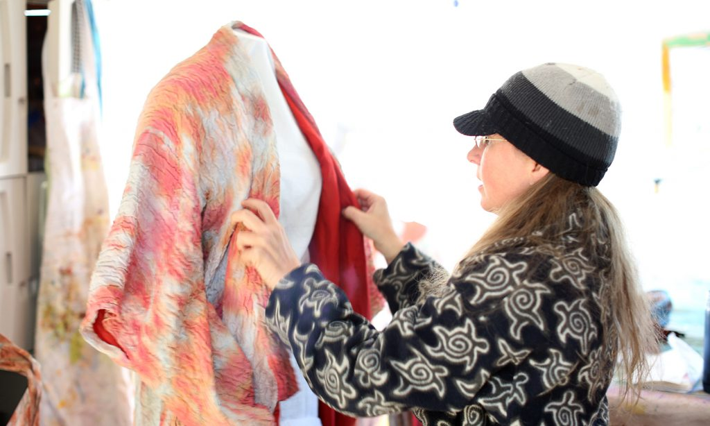Melanie Audet   Fiber Artist in Manitou Springs