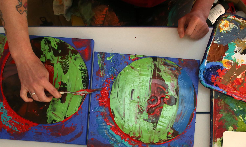 KJ Becker   Expressive Art Peer Support