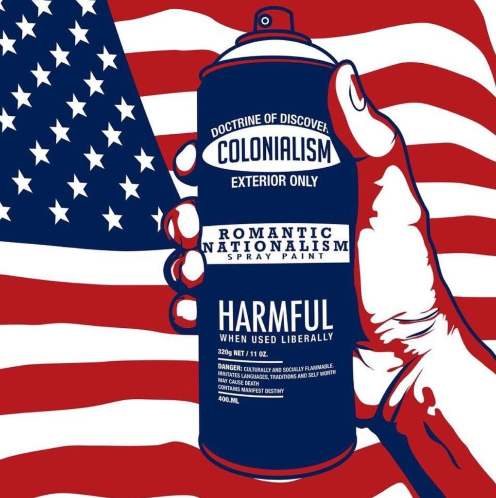 """Colonialism Spray Can"" by Gregg Deal"